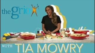 Tia Mowry on how easy it is to cook tasty, healthy food and why it