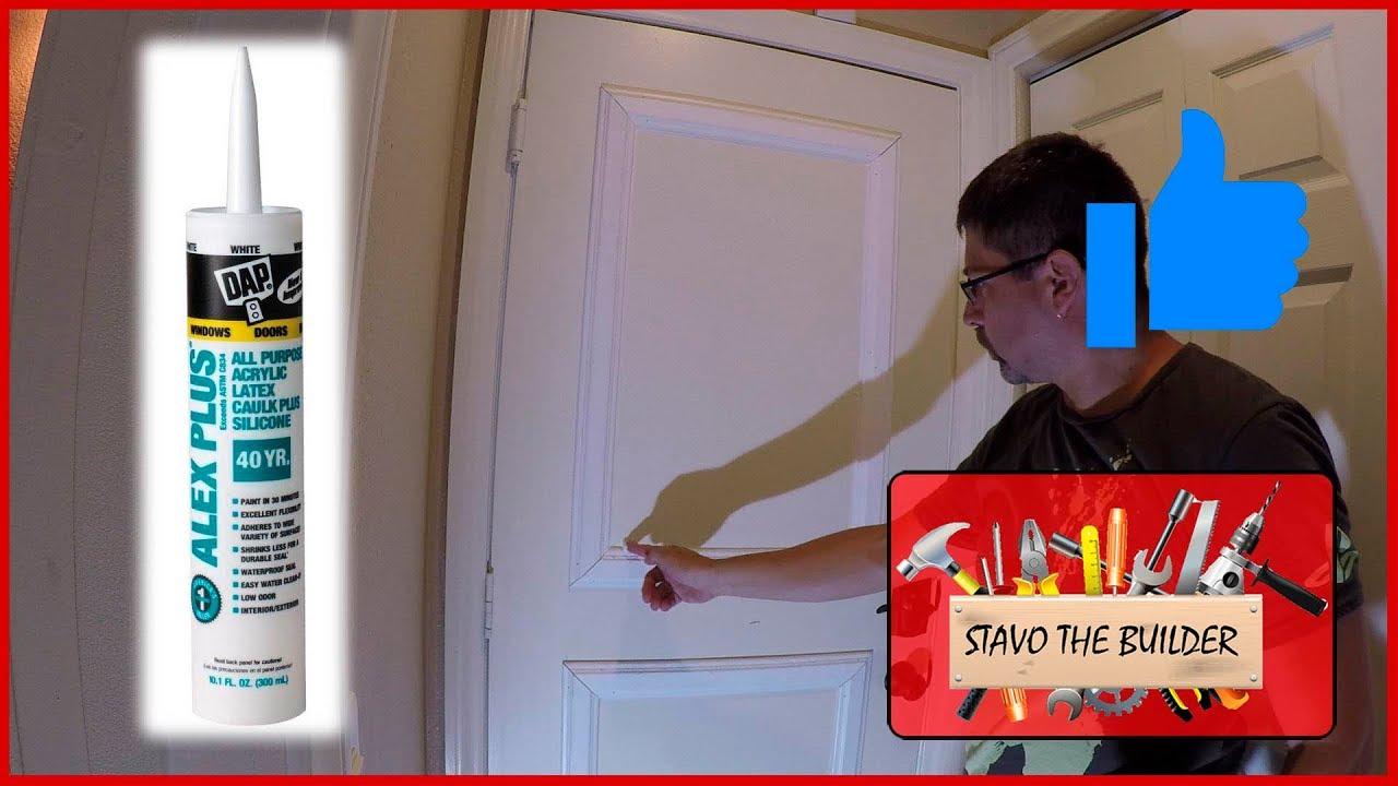 Como instalar molduras decorativas a una puerta plana o lisa - YouTube