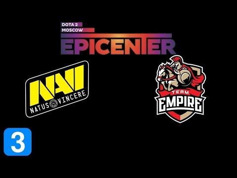 Navi Vs Empire Game 3 EPICENTER Major 2019 Highlights Dota 2