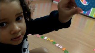 aprendendo o ALFABETO com 2 anos - Brinquedos educativos - crianças inteligentes