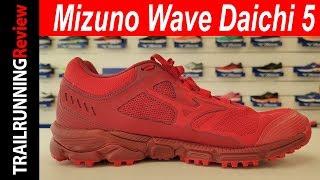 Mizuno Wave Daichi 5 Preview