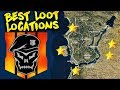 TOP 5 BEST LOOT LOCATIONS TO LAND IN BLACKOUT! (Call of Duty Battle Royale)