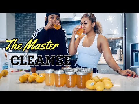 BEGINNING THE MASTER CLEANSE DETOX DAY 1