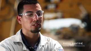 Cat Entry Level Technician Diego Santos Share His Story