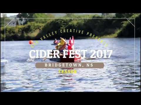 Bridgetown Ciderfest, boat takes a plunge