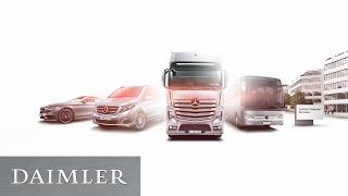 Daimler Jahrespressekonferenz in drei Minuten