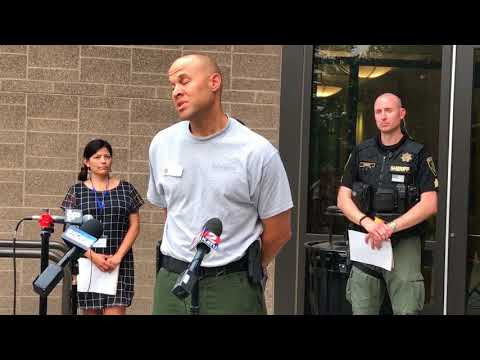 Multnomah County officials give evening update on Eagle Creek fire