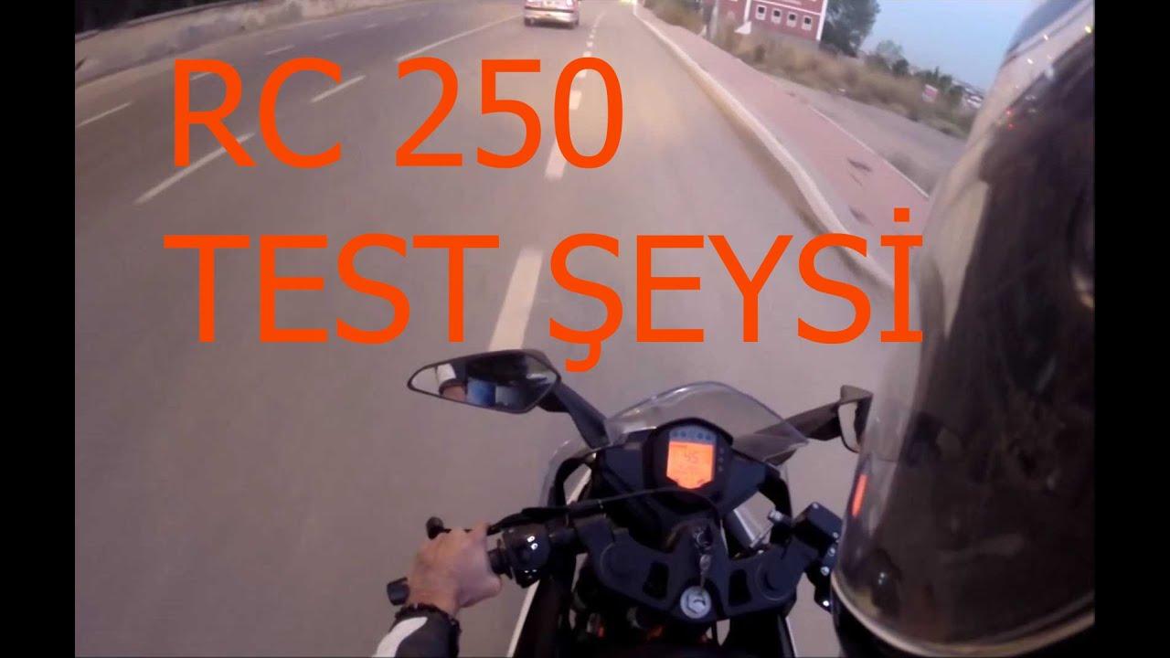 ktm rc 250 test // motovlog #105 - youtube