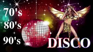 Disco 70s 80s 90s Music Hits || Golden Eurodisco Megamix - Melhor música disco 70s 80s 90s Legends
