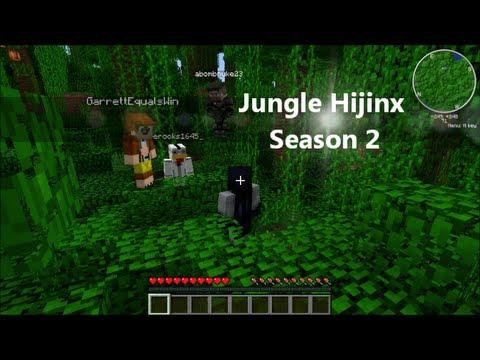 Jungle Hallway - Minecraft jungle hauser