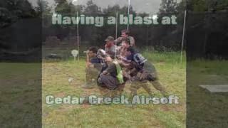 Having A Blast At Cedar Creek Airsoft