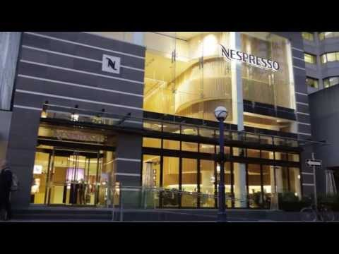 NESPRESSO TORONTO BOUTIQUE BAR - Canada - Business News - Grand Opening Video - Coffee Espresso