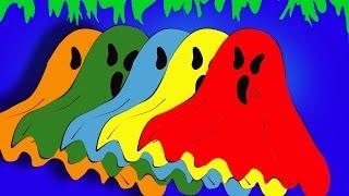 Colors Halloween. Сolor shot. Speed coloring. Halloween Videos