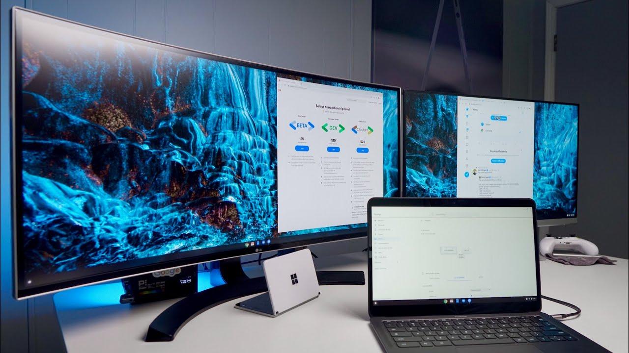 Chromebook Multi-Monitor Extended Display Setup