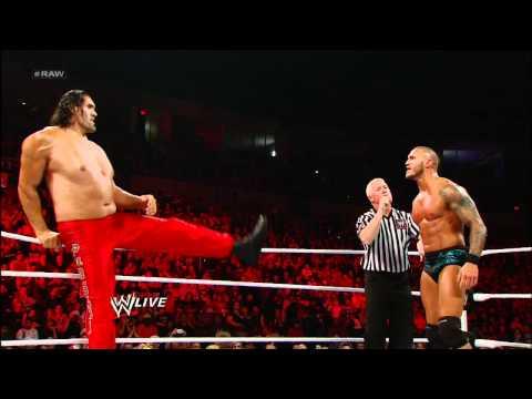 Raw: Randy Orton & The Great Khali vs. Wade Barrett & Cody