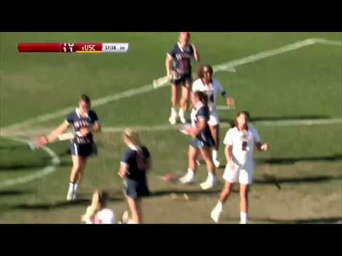 Women's Lacrosse: USC 21, Fresno State 5 - Highlights 3/31/17