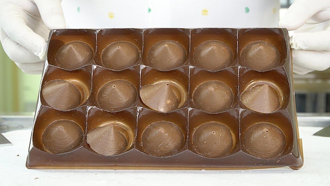 Milk Chocolate with Macadamia Ice Cream Rolls