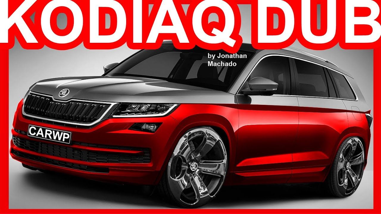 photoshop skoda kodiaq dub kodiaq youtube