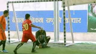 Nepal Telecom Second Annual Corporate Futsal League 2014