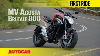 MV Agusta Brutale 800 | First Ride | Autocar India thumbnail