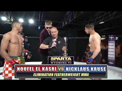 Sparta WY6 Noufel El Kasri v Nicklaus Kruse