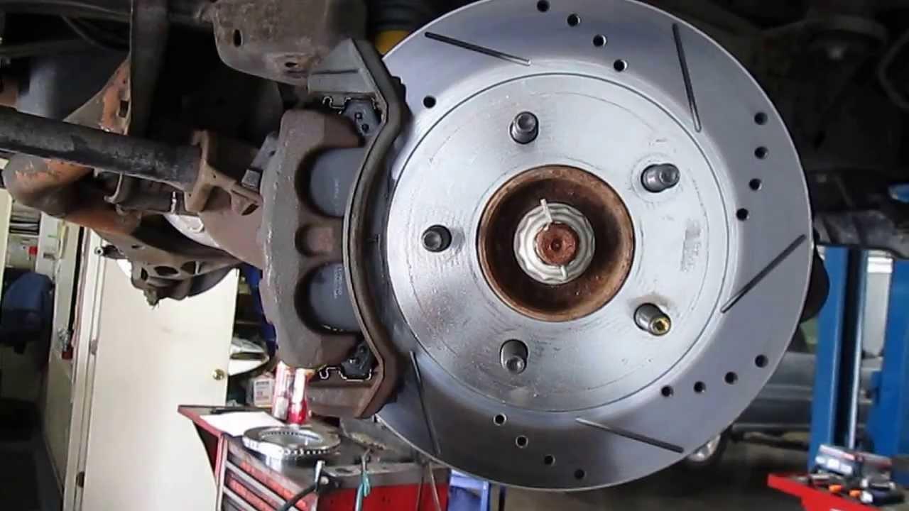Car Brake Pads >> How to check brake rotor lateral runout - YouTube