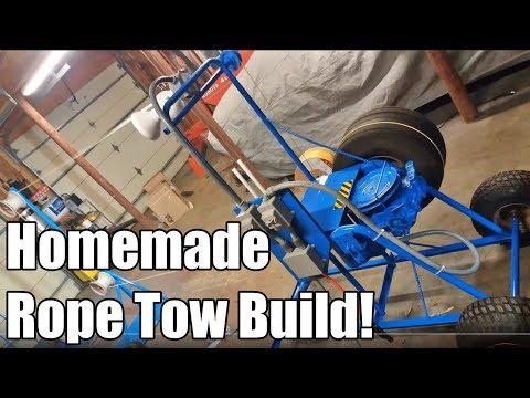 Build Project: Backyard Ski Lift WORKS AWESOME!
