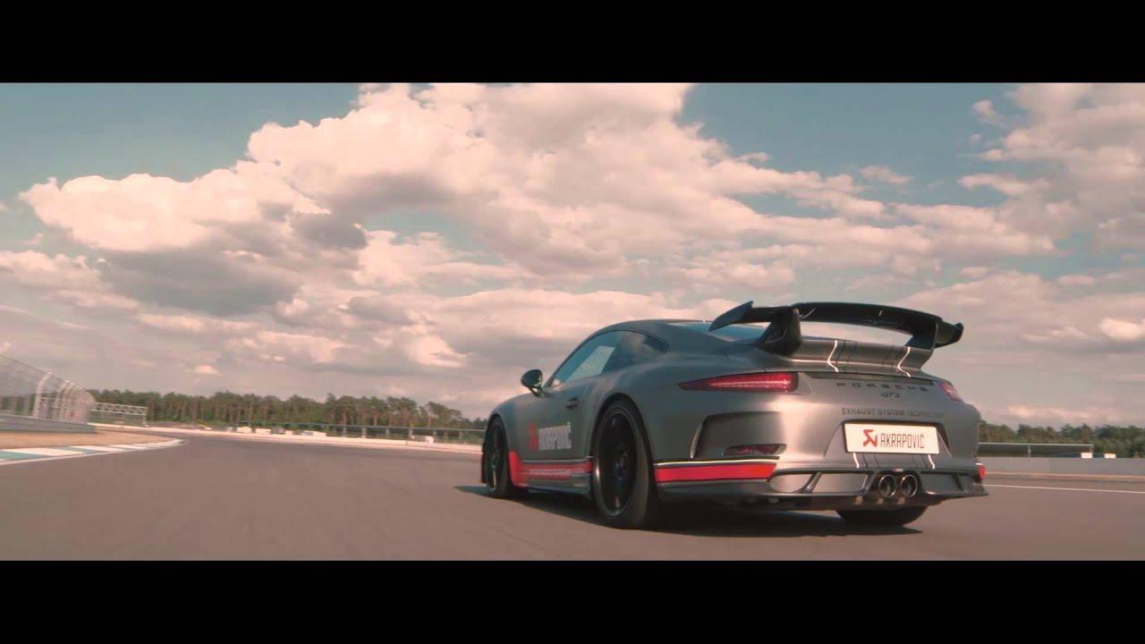 AKRAPOVIČ EXHAUST FOR PORSCHE 911 GT3 (991) - YouTube