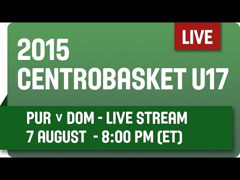 Puerto Rico v Dominican Republic - Group 16 - 2015 Centrobasket U17 Championship