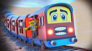 The Mirage Short Lego Movie - Funny Lego videos - choo choo train kids videos