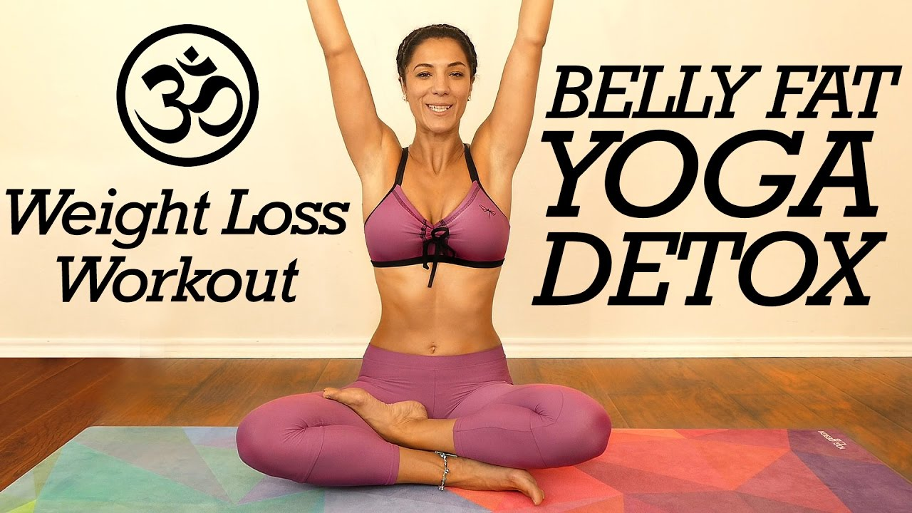 Gentle Yoga For Belly Fat Digestion Detox Core Strength 20 Minute Flow For Beginners At Home Youtube