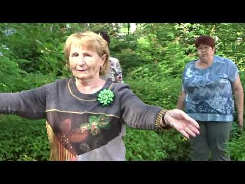 Скандинавские ходоки из Подольска на Дне открытых дверей в Подольском ГЦСО