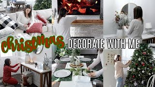 CHRISTMAS DECORATE WITH ME | CHRISTMAS DECOR IDEAS | CHRISTMAS 2019