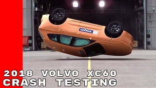 2018 Volvo XC60 Crash Testing
