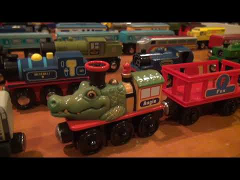 Not A Thomas Wooden Railway Collection Video Youtube