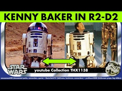 STAR WARS KENNY BAKER INSIDE R2D2 Episode IV s Behindthes Pics Toys  Collection THX1138