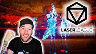 THIS NEW LEAGUE HAS LASERS?!