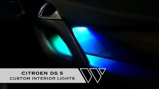 Citroen DS5 // Custom Interior Lights