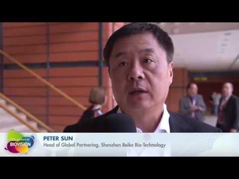 BIOVISION 2015 - Peter Sun, Shenzhen Beike Bio-Technology