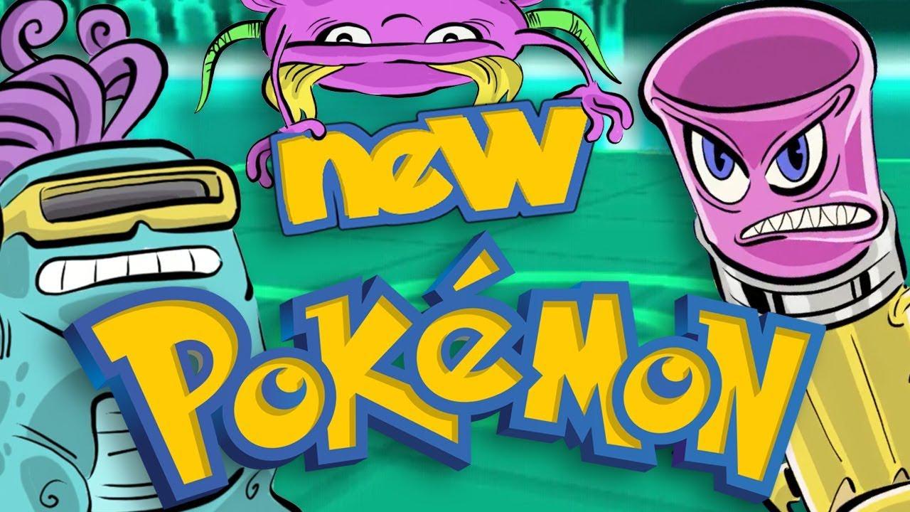 Creating New Pokemon Drawing Challenge Butch Hartman Youtube