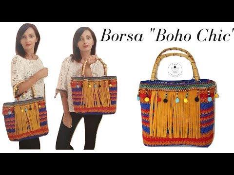 """tutorial:-borsa-""""boho-chic""""/-borsa-etnica-uncinetto**la-fata-tuttofare**"""