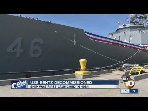 USS Rentz decommissioned after 30 Years