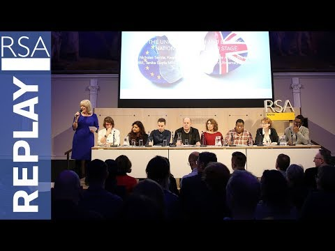 The United Kingdom and Europe: Nations on the World Stage | Sir Nicholas Serota | RSA Replay