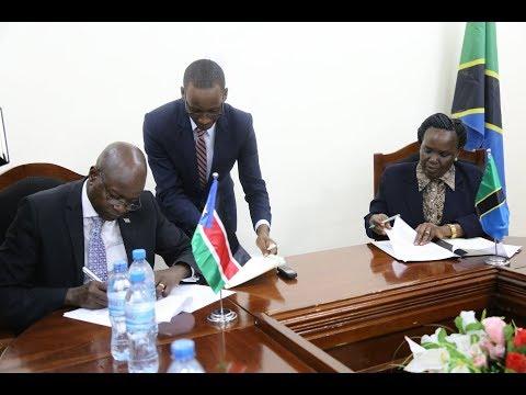 GOOD NEWS: Tanzania na Sudani Kusini yaingia mkataba mnono