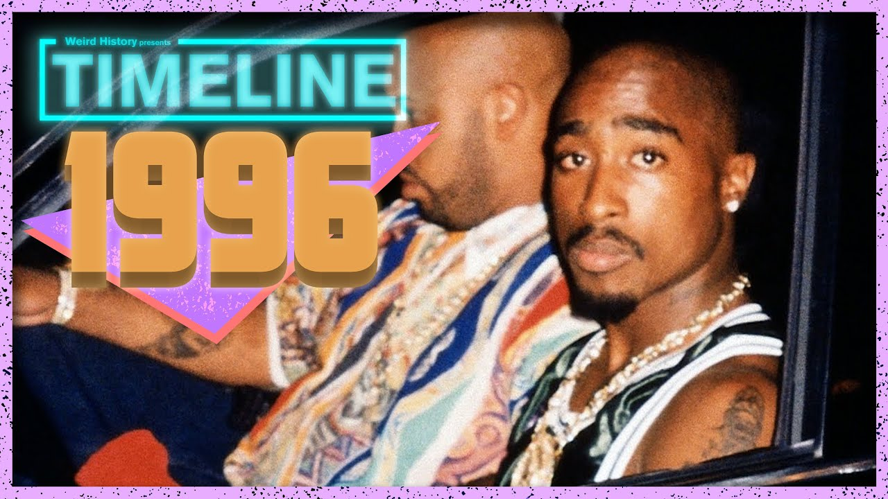 Timeline: 1996 - Everything that Happened In '96