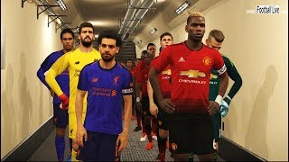 PES 2018   Manchester United vs Liverpool FC   Full Match & Amazing Goals   Gameplay PC