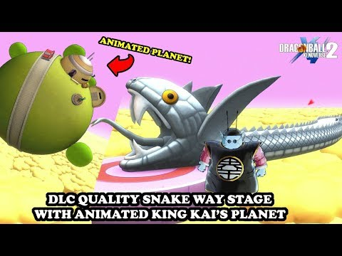 DLC QUALITY SNAKE WAY STAGE (ANIMATED PLANET)! AWESOME MOD! Dragon Ball Xenoverse 2 Mods
