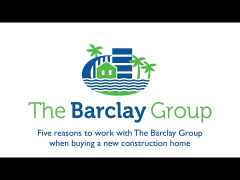 Five reasons to work with The Barclay Group with RE/MAX Elite to buy a new construction home