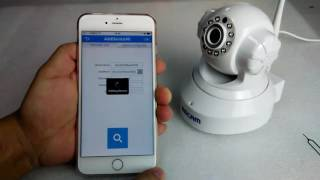 eSCAM QF001 720P WiFi IP Camera - Review (bosanski)