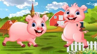 Dạy bé tập nói con vật tiếng việt   em bé học đọc tên con lợn con gà con mèo  dạy trẻ thông minh sớm